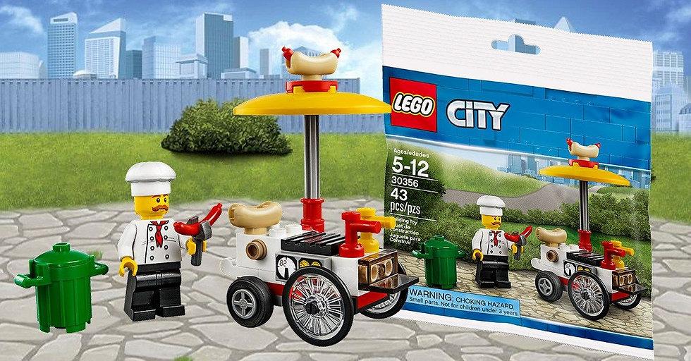 Poly Bag Lego City 30356 Hot Dog Stand Set