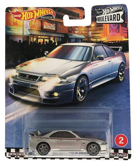 Hot Wheels Premium Nissan Skyline GT-R (BCNR33)