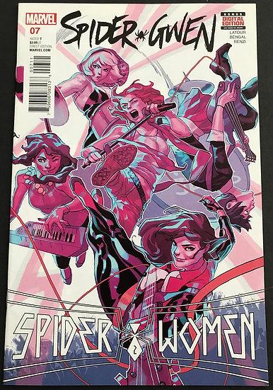 Spider-Gwen (Marvel 2nd Series) #7 NM-