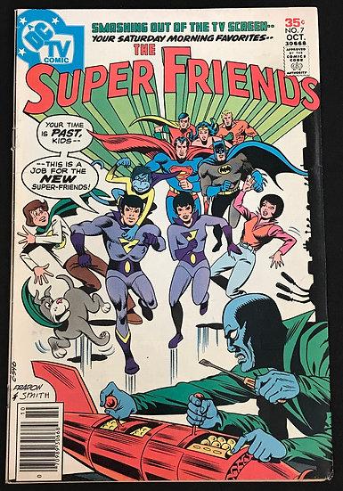 Super Friends (1976 DC 1st Series) #7 VF-