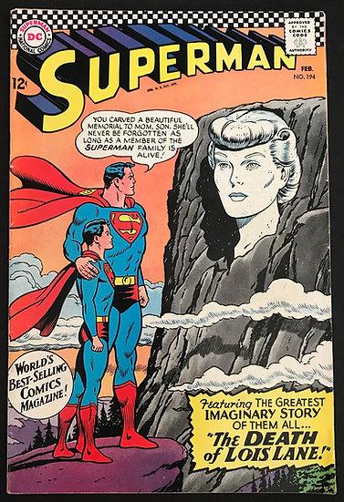 Superman (1939 1st Series) #194 VF