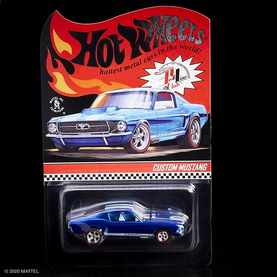 Hot Wheels RLC Exclusive Custom Mustang