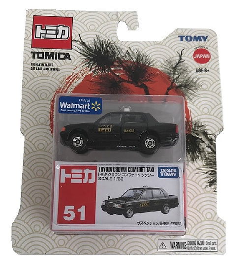 Tomica Toyota Crown Comfort Taxi Highly Detailed Die Cast Collectible[Exclusive]