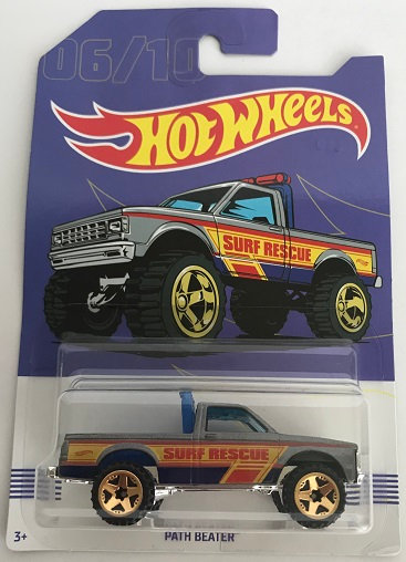 2017 Hot Wheels Path Beater