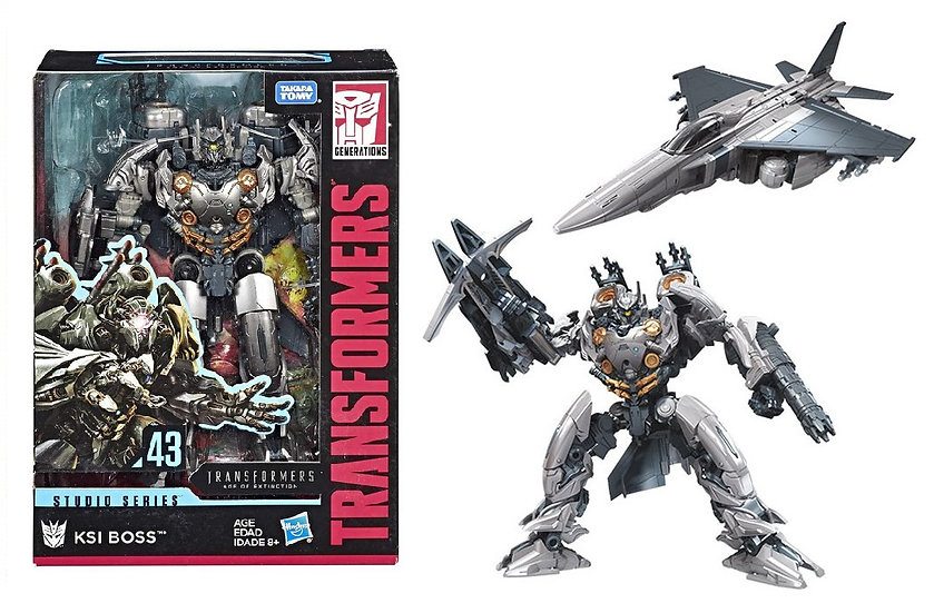 Transformers Voyager Class Age of Extinction Studio Series 43  KSI Boss Figure