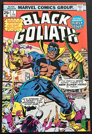 Black Goliath #1 VF/NM
