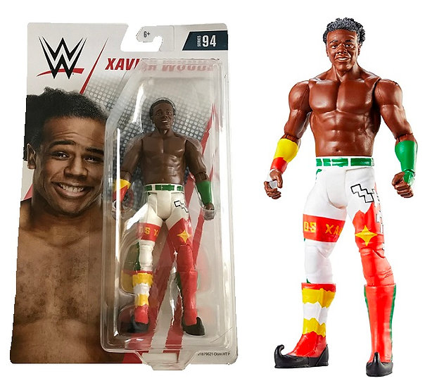 WWE Series 94 Xavier Woods Wrestling Figure