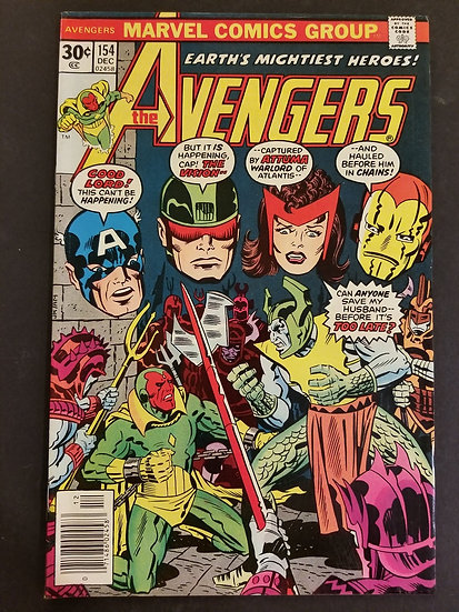 Avengers (Marvel ) #154 VF/NM