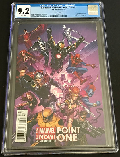 All-New Marvel Now! Point One (Marvel ) #1 CGC 9.2 White Pages [Variant Edition]