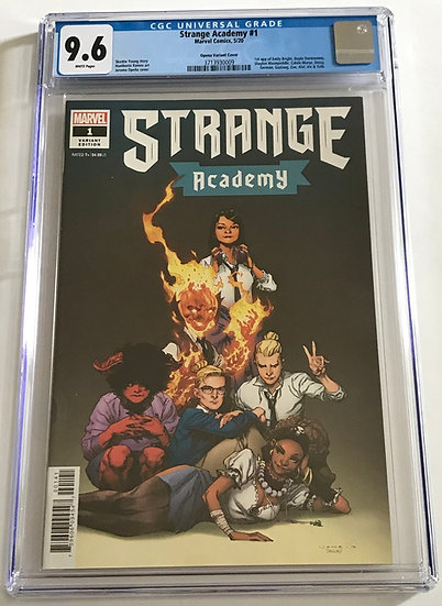 Strange Acedemy (Marvel) #1 CGC 9.6 White Pages [Opena Variant Cover]