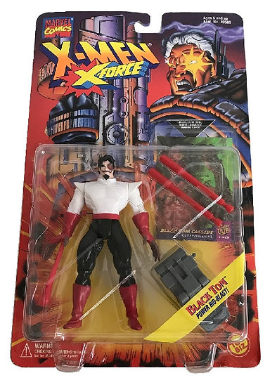 1995 Marvel Comics X-Men X-Force Black Tom Power Bio-Blast Figure By Toy Biz