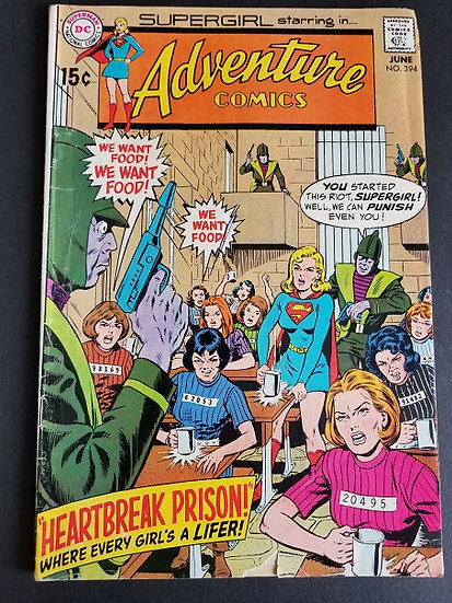 Adventure Comics #394 GD