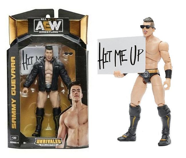 AEW Unrivaled Series 4 Sammy Guevara Wrestling Figure