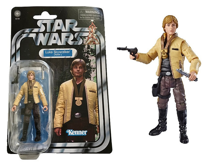 Star Wars Vintage Collection A New Hope 3.75 inch Luke Skywalker [Broken Bubble]
