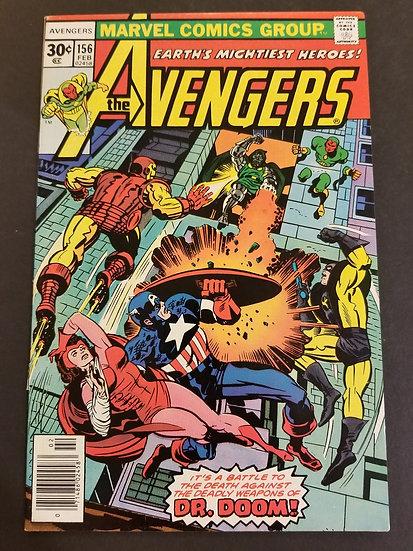 Avengers (1963 1st Series) #156 NM
