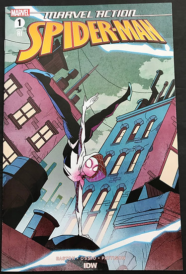 Marvel Action Spider-Man (2020 2nd Series IDW) #1RI NM Retailer Variant Cover