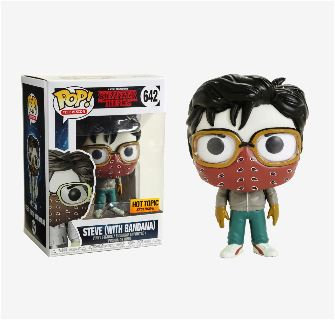 Stranger Things Steve With Bandana 642 Hot Topic Exclusive