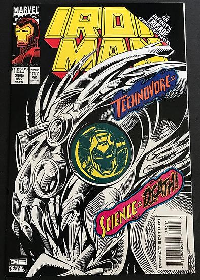 Iron Man (1968 1st Series) #295