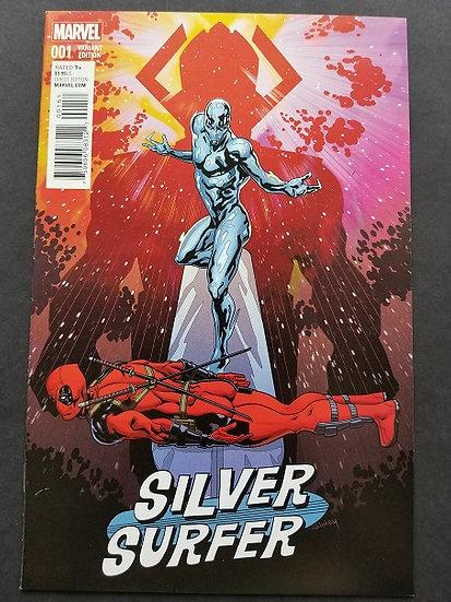 Silver Surfer (2016) #1C 2016 Deadpool Variant NM