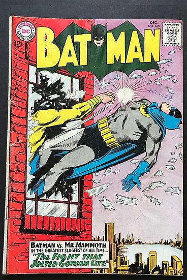 Batman #168 GD+