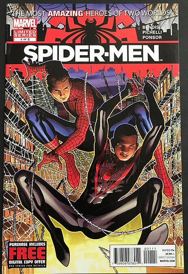 Spider-Men (2012 Marvel) #1 VF