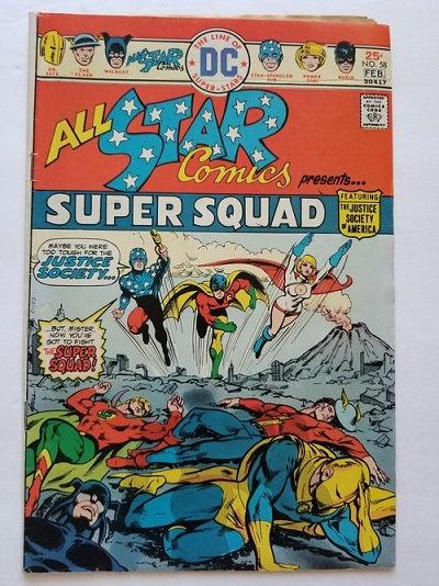 All Star Comic 58 FN, 1st appearance of Power Girl