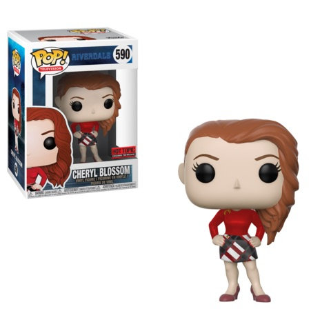 Funko Pop RIverdale Cheryl Blssom 590 Hot Topic Exclusive
