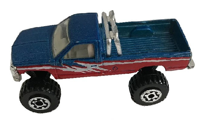 1993 Matchbox Chevy K1500 Pick-up [Loose Die-Cast Matchbox]