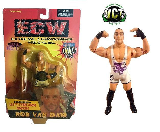 1999 ECW Rob Van Dam Action Figure