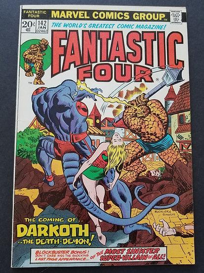 Fantastic Four (1961 1st Series) #142 VF