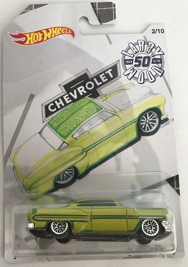 2018 Hot Wheels Larry Wood 50th Anniversary Custom '53 Chevy