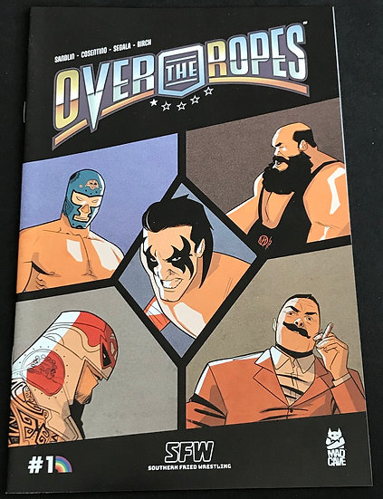 Over the Ropes (Mad Cave) #1 VF [CBSI Variant]