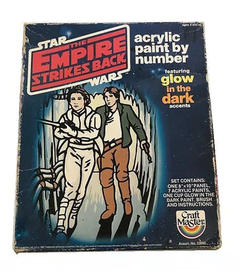 1980 Star Wars The Empire Strikes Back Empire Princess Leia Figurine Paint