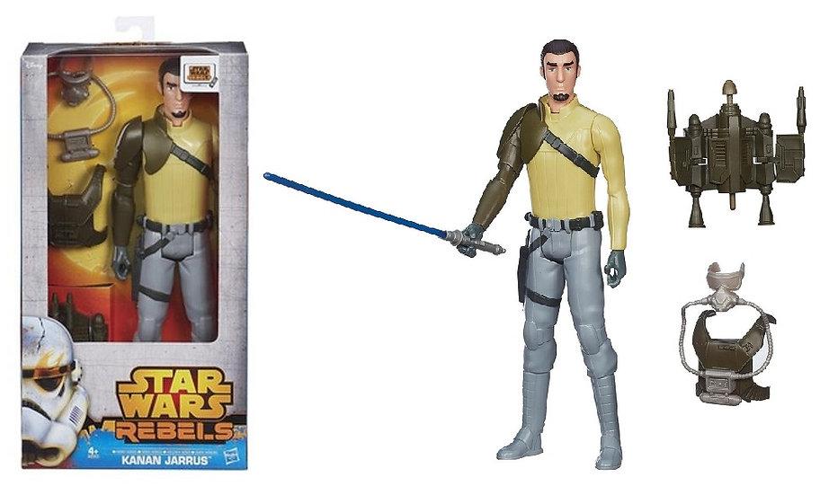 """Star Wars Hero Series 12"""" Kanan Jarrus Figure"""