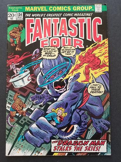 Fantastic Four (1961 1st Series) #134 FN+