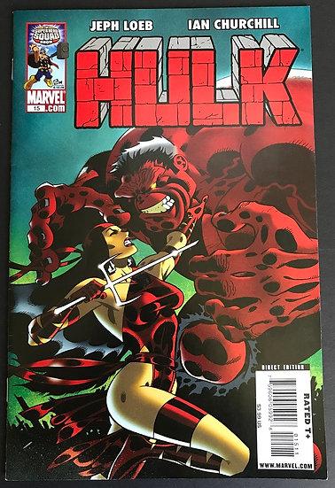 Hulk (Marvel) #15 VF [Red Hulk VS Elektra 1st app Red She-Hulk issue]