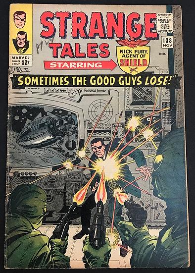 Strange Tales (1951-1976 1st Series) #138 FN-