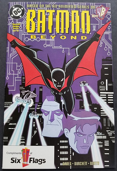 Batman Beyond 1 NM Six Flags Variant. Printed in August. 1st Appearance of Terry