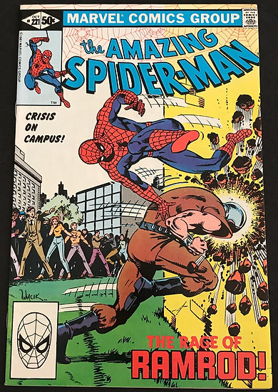 Amazing Spider-Man (1963 1st Series) #221 VF+
