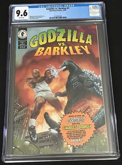 Godzilla Vs. Barkley #1 CGC 9.6 White Pages