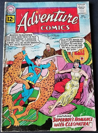 Adventure Comics (1938 1st Series) #291 GD+