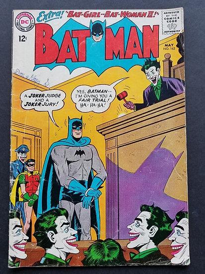 Batman (1940) #163 VG/FN [Writing Inside]