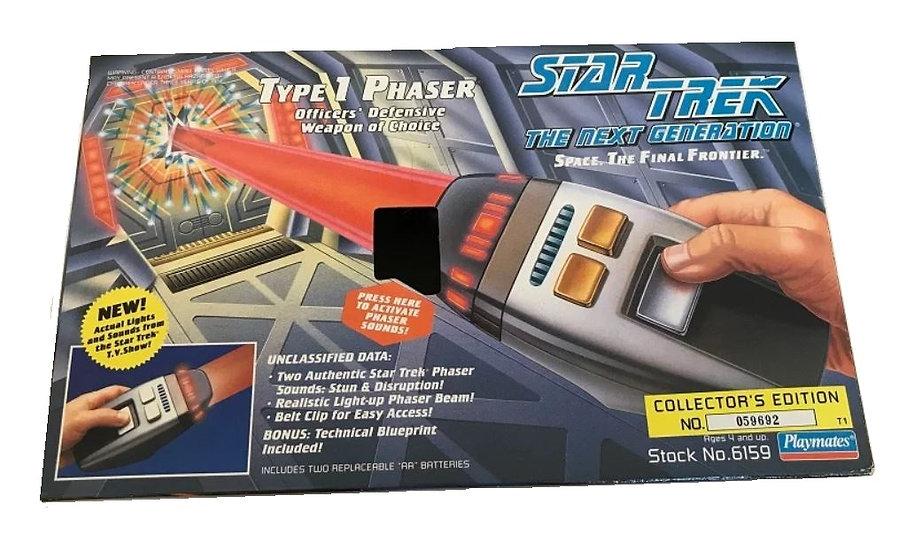 1994 Star Trek The Next Generation Type 1 Phaser Toy