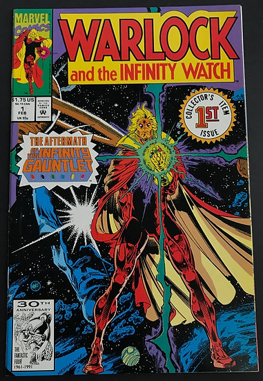 Warlock and the Infinity Watch (1992) #1 NM-