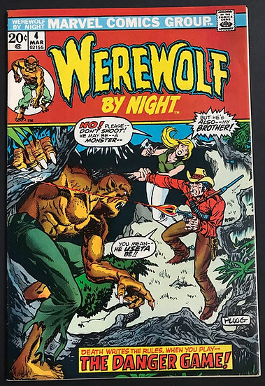 Werewolf by Night (1972 1st Series) #4 NM-