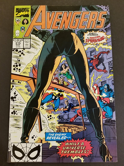 Avengers (Marvel ) #315 NM/MT [Nebula appearance.]