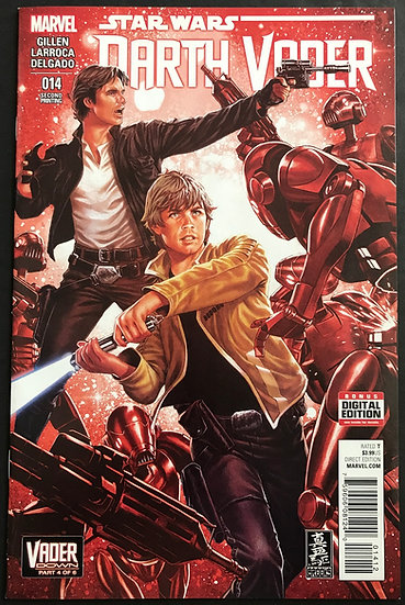 Star Wars Darth Vader (2015 Marvel) #14 2nd Printing VF/NM
