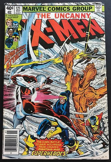 X-Men 121 FN/VF