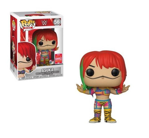 Funko Pop WWE Asuka 56 SDCC 2018 Exclusive