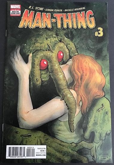 Man-Thing (2017 Marvel) #3A VF